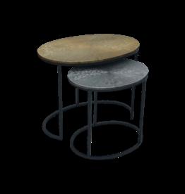 Damn Set van 2 tafels  ovaal