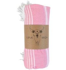 Love Ibiza Hammam Roundie Pink
