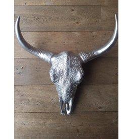 Damn Skull silver 62 cm