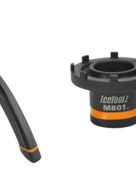 Icetoolz Spidertool voor Bosch Active/Performance line + Cranktrekker combi