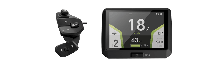 Panasonic Bikespeed-RS voor Panasonic X1/Flyer met FIT display  t/m 2019