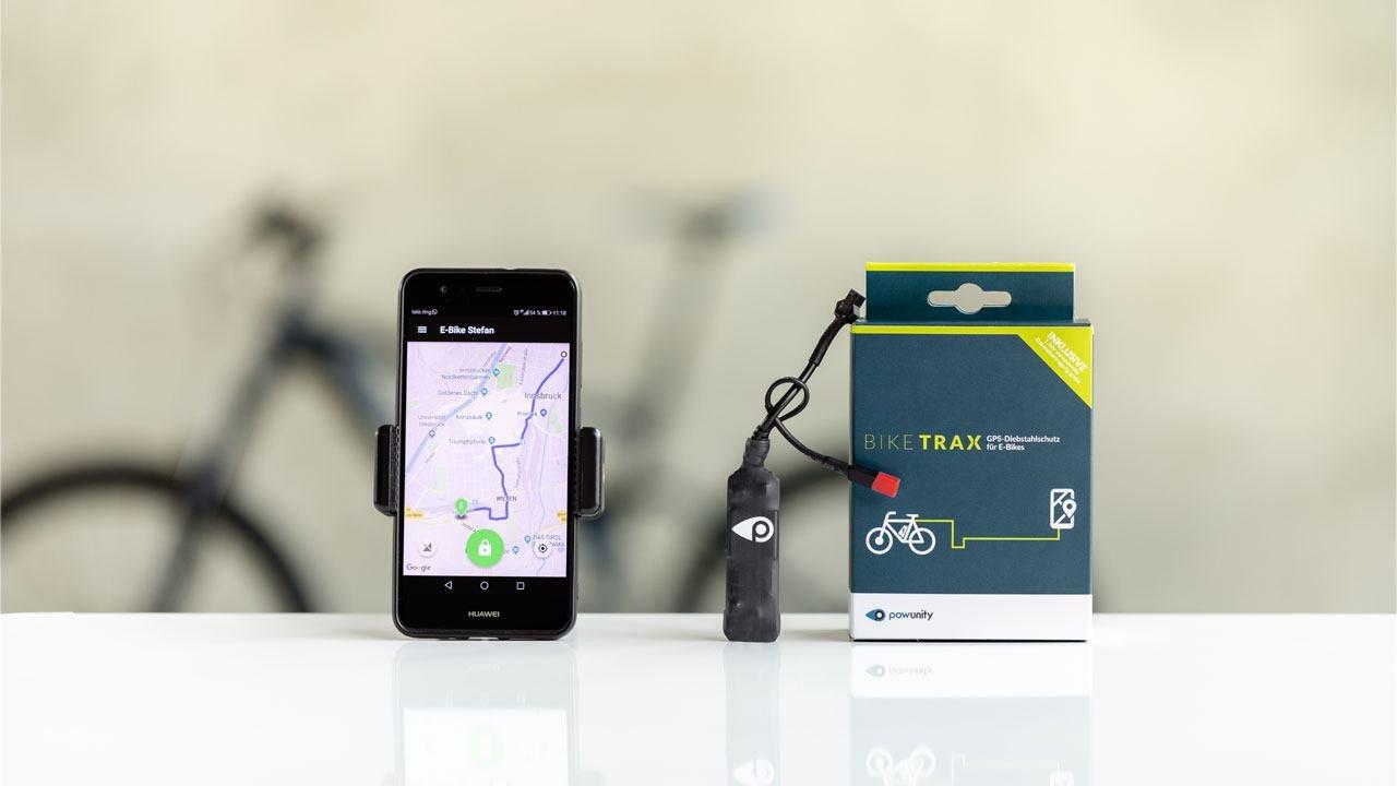 Shimano BikeTrax gps tracker Shimano