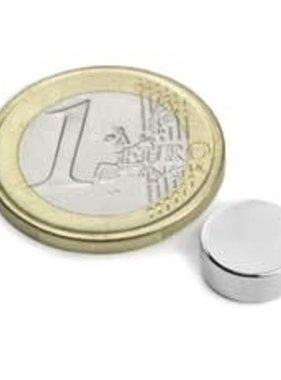 Neodymium magneet 4 mm, set van 10 stuks