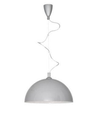 Halve bol hanglampen - Liverpool Grey Gold