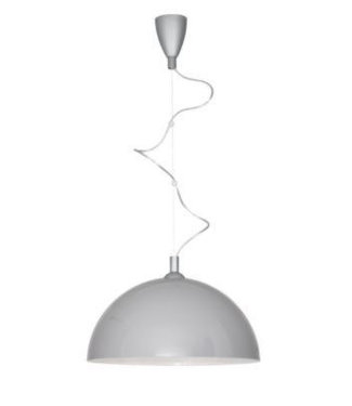 Home Halve bol hanglampen - Liverpool Grey Gold