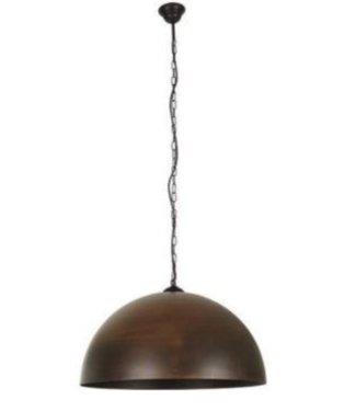 Halve bol hanglampen - Liverpool Brown Rust