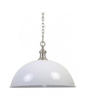 Light & Living Halve bol hanglampen - World Nickel