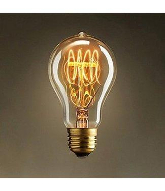 Industriële gloeilampen - Kooldraadlamp Peer E27