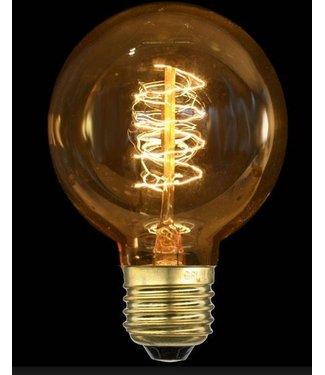 Industriële gloeilampen - Kooldraadlamp Globe Bol