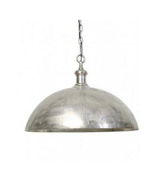 Halve bol hanglampen - Nickel