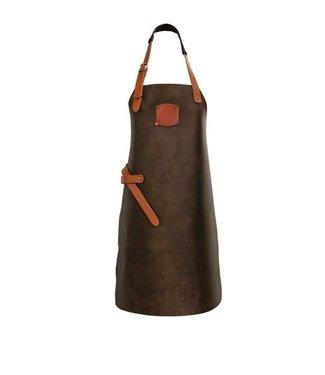 BBQ schort - Vintage leder