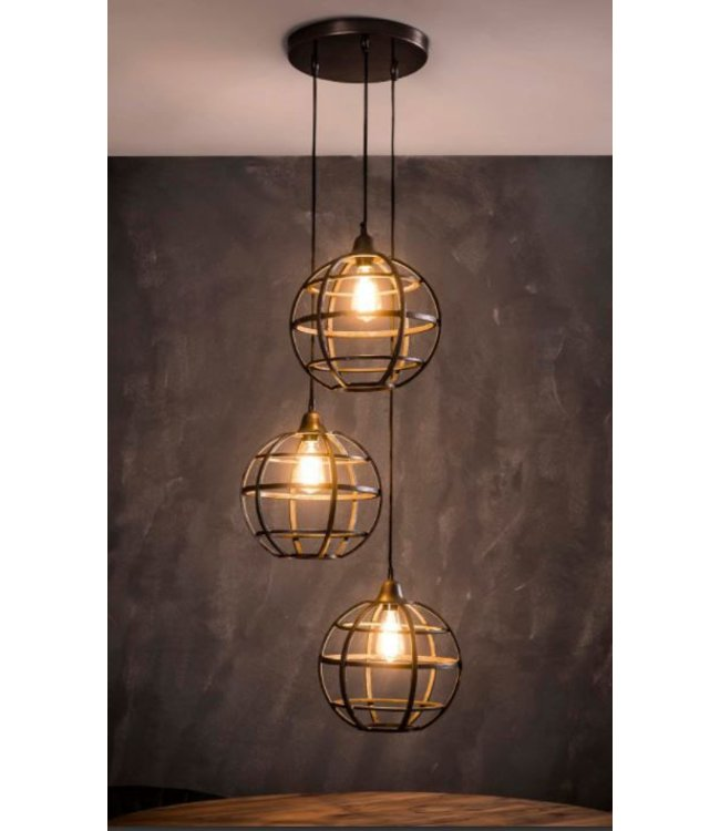 Onwijs Industriële hanglampen - Mitch - De Woonhoek YZ-56