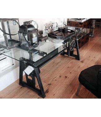 Polymag Hugo industriële eetkamer- bar- tafel