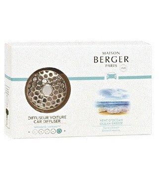 Maison Berger Maison Berger autoparfum set  - Ocean Breeze