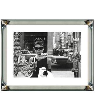 Glas Art Audrey Hepburn - Glas art