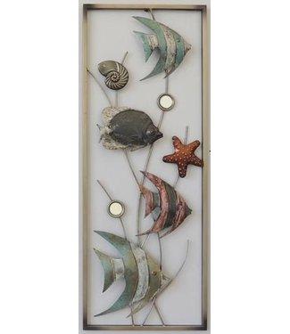 Wand decoratie Vissen - wand decoratie