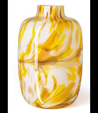 Fidrio Vase Toronto Mustard