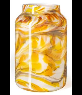 Fidrio Vase Toronto Mustard  XXL