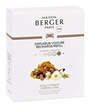 Maison Berger Lampe Berger - Auto parfum Oriental Star - Navulling