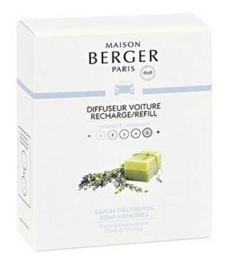 Maison Berger Lampe Berger - Auto parfum   Soap Memories - Navulling