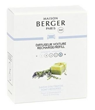 Maison Berger Maison Berger - Auto parfum - Navulling  Soap Memories