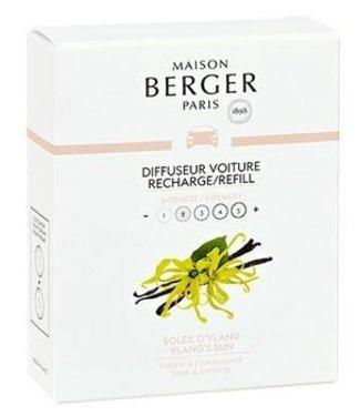 Maison Berger Lampe Berger - Auto parfum Soleil d'Ylang - Navulling