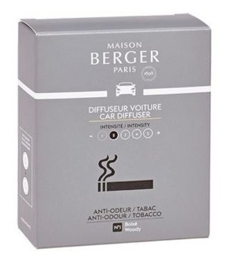 Maison Berger Maison Berger - Auto parfum navulling  Anti odeur Tabac