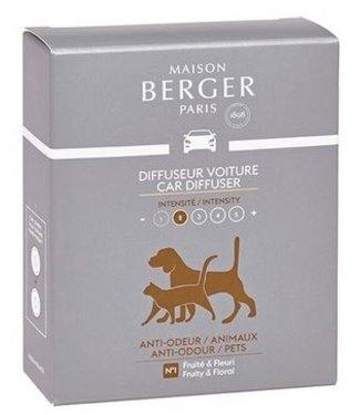 Maison Berger Maison Berger - Auto parfum navulling  Anti  dierenluchtjes