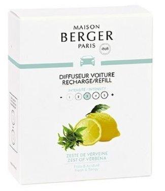 Maison Berger Lampe Berger - Auto parfum Zeste de Verveine - Navulling
