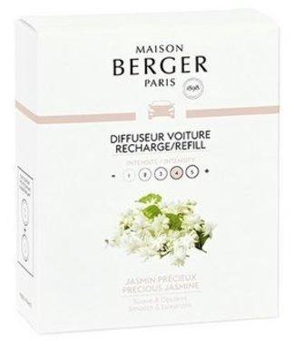 Maison Berger Lampe Berger - Auto parfum Jasmin Precieux - Navulling