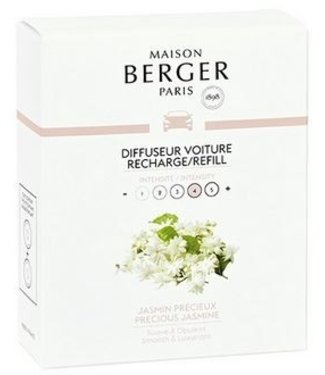 Maison Berger Maison Berger - Auto parfum navulling Jasmin Precieux