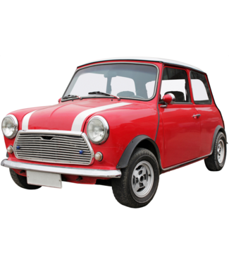 Wand decoratie Metalen 3D wanddecoratie - Mini Cooper