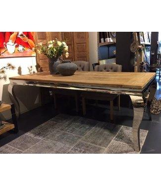 Home Gustaaf Eetkamer tafel  - Kasar met queen ann frame