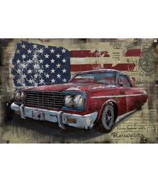 3D Art Chevrolet old timer USA