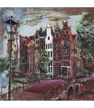 3D Art Amsterdam - Metalen 3D schilderij