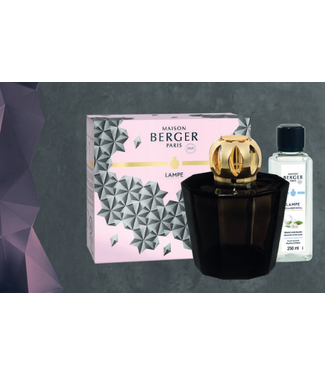 Maison Berger Gift set - Lampe Berger Black Crystal