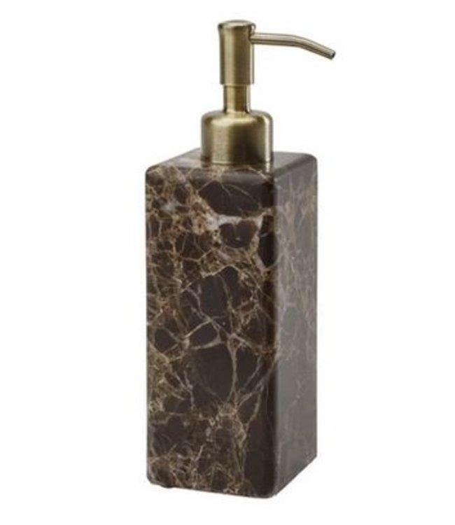 Aquanova Hammam zeep dispenser - bruin marmer