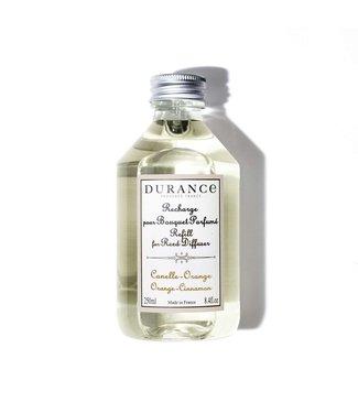 Durance Orange Cinnamon - Navulling geurstokjes