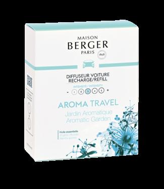 Maison Berger Maison Berger Autoparfum Navulling Aroma Aromatic Garden - 2 Stuks