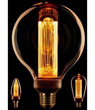 ETH Industriële gloeilampen - Kooldraadlamp Globe 125