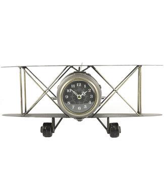 Countryfield Vliegtuig tafelklok Paul