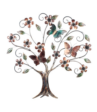 Home Metalen wanddecoratie Tree of Life