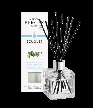 Maison Berger Parfumverspreider Cube Fraîcheur d'Eucalyptus