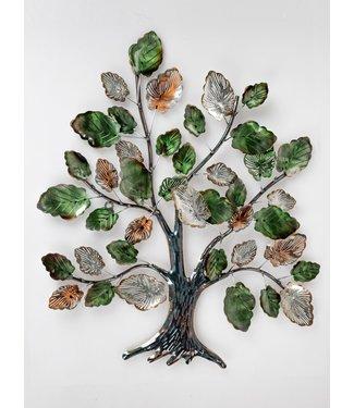 Home Metalen wanddecoratie - Green Tree