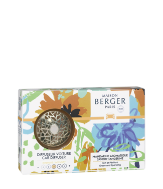 Maison Berger Maison Berger autoparfum set - Mandarin Aromatique
