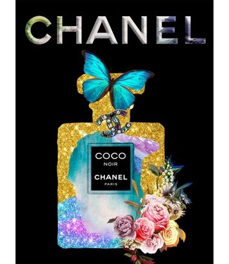 Ter Halle Coco Chanel - Bleu Butterfly