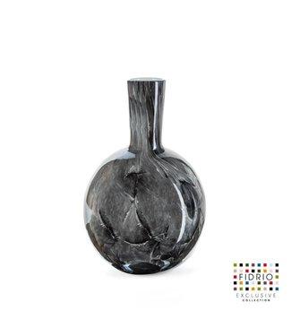 Fidrio Fidrio nero vaas -  model Globe