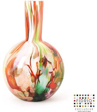 Fidrio Fidrio Mixed Colours vaas - model Globe medium