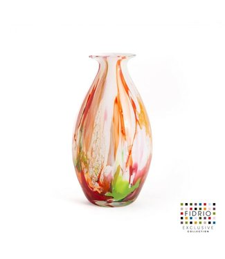 Fidrio Fidrio Mixed Colours vaas - model Drop