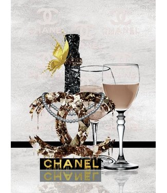 Ter Halle Chanel - Gold Butterfly